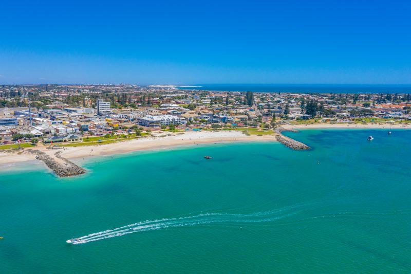 Aerial photo of Geraldton, WA